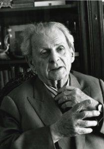 Leedu-Prantsuse filosoof Emmanuel Levinas
